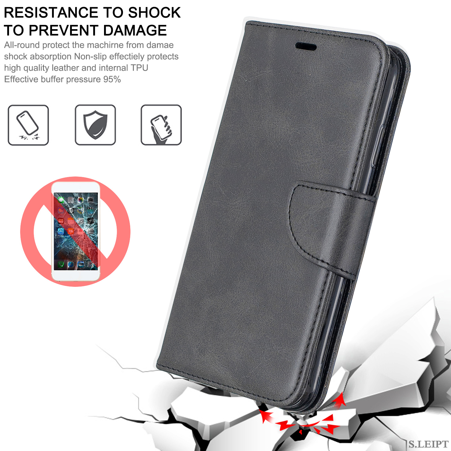 Magnetic-Flip-Card-Wallet-Leather-Phone-Case-For-Sony-Xperia-XA2-Ultra-XZ1-L3-10 thumbnail 11