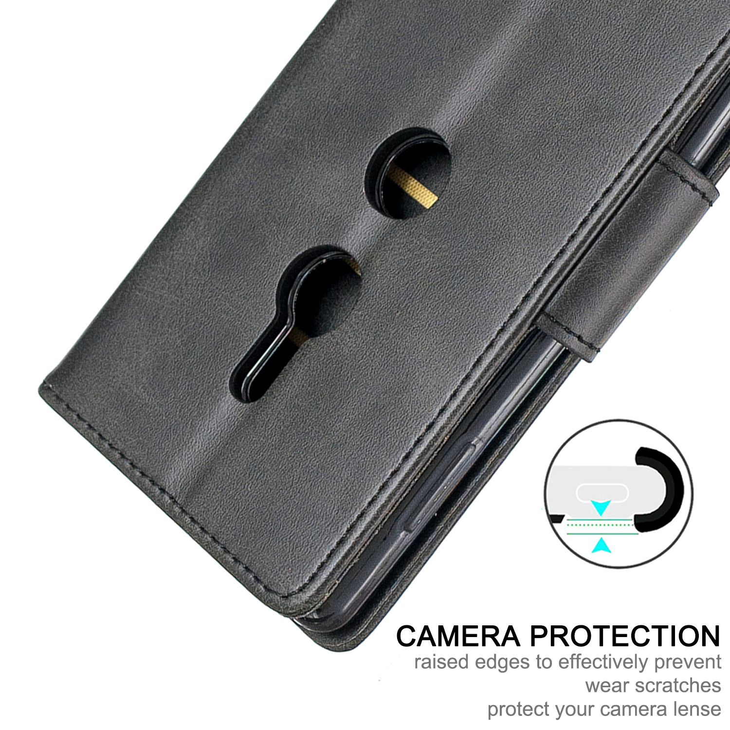 Magnetic-Flip-Card-Wallet-Leather-Phone-Case-For-Sony-Xperia-XA2-Ultra-XZ1-L3-10 thumbnail 12