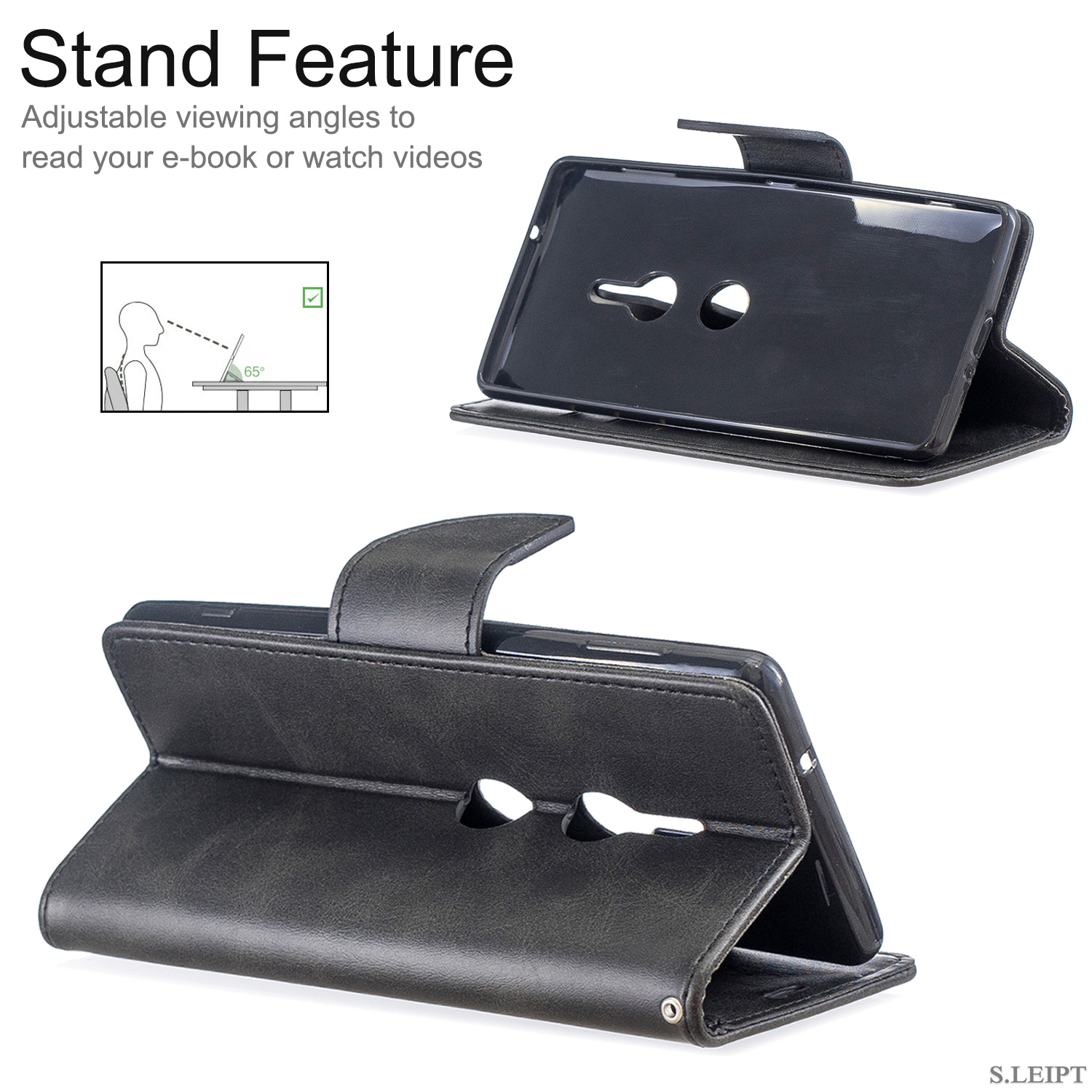 Magnetic-Flip-Card-Wallet-Leather-Phone-Case-For-Sony-Xperia-XA2-Ultra-XZ1-L3-10 thumbnail 13