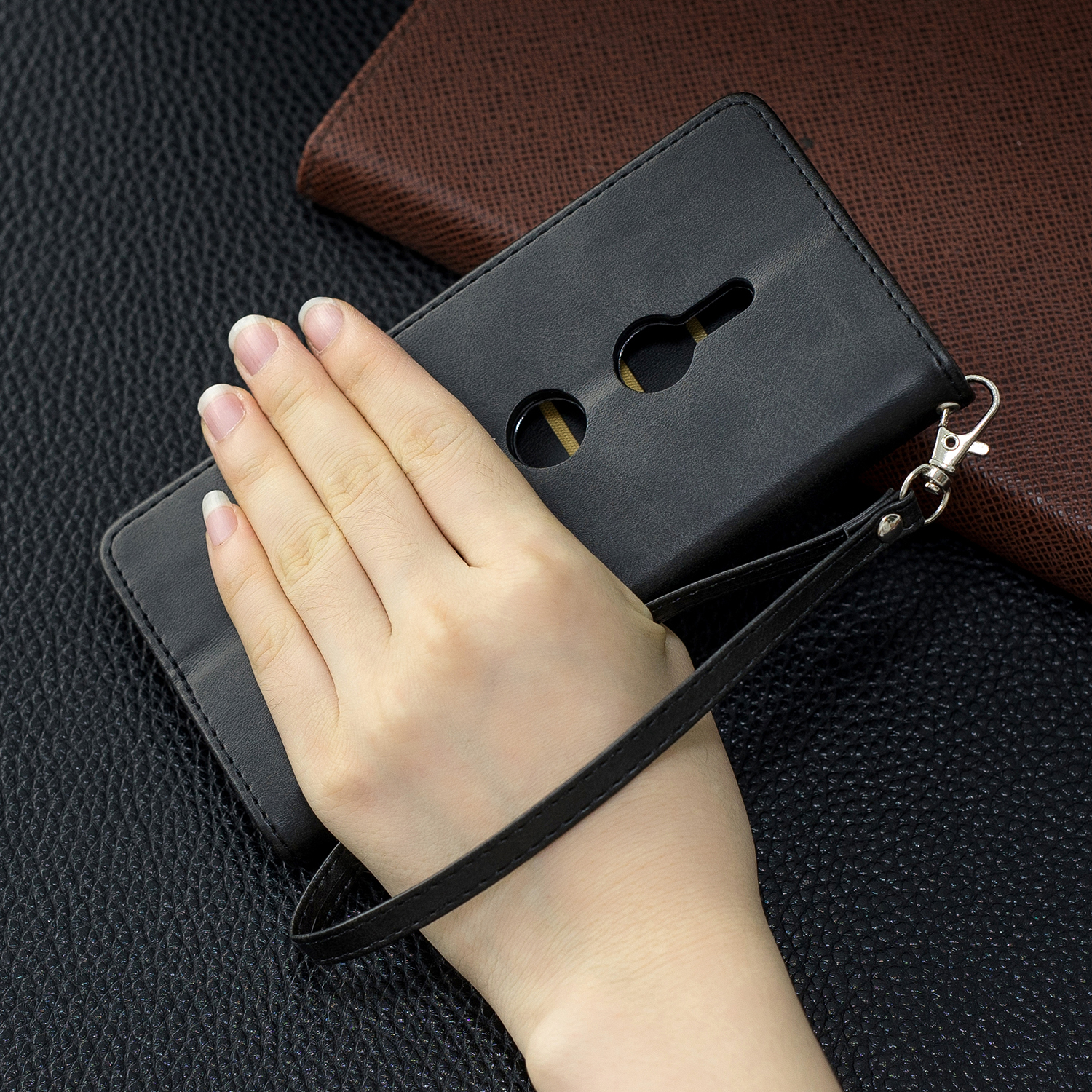Magnetic-Flip-Card-Wallet-Leather-Phone-Case-For-Sony-Xperia-XA2-Ultra-XZ1-L3-10 thumbnail 9