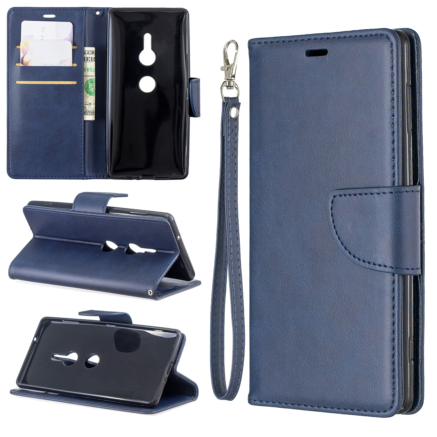 Magnetic-Flip-Card-Wallet-Leather-Phone-Case-For-Sony-Xperia-XA2-Ultra-XZ1-L3-10 thumbnail 19