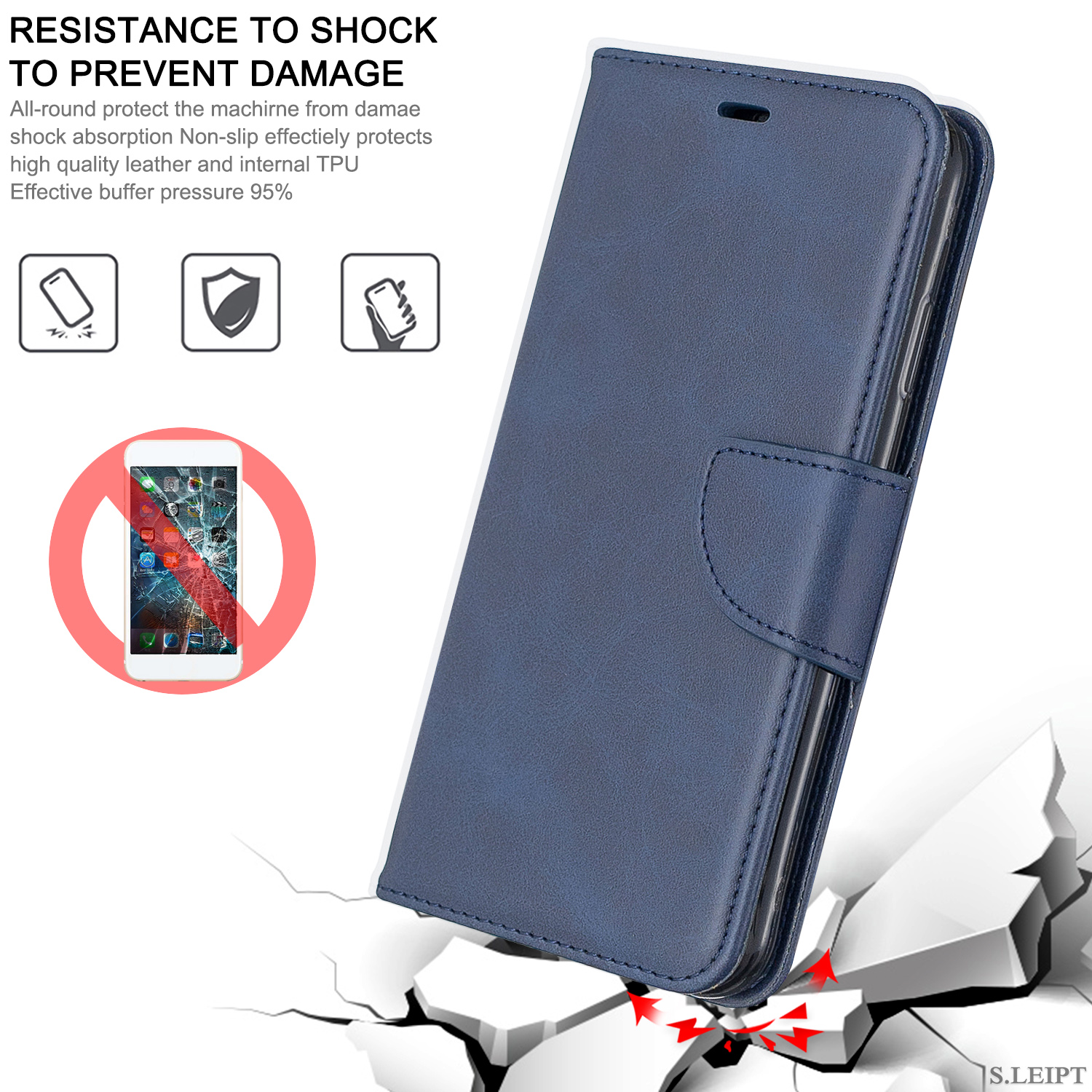Magnetic-Flip-Card-Wallet-Leather-Phone-Case-For-Sony-Xperia-XA2-Ultra-XZ1-L3-10 thumbnail 20