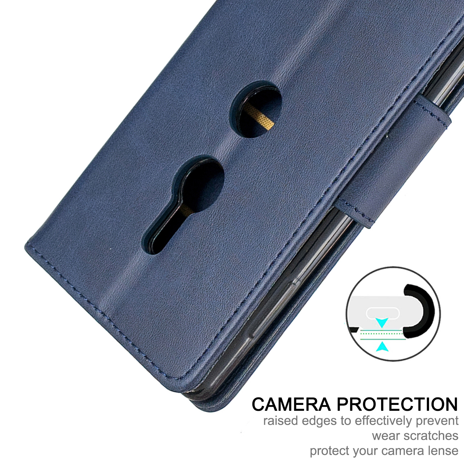 Magnetic-Flip-Card-Wallet-Leather-Phone-Case-For-Sony-Xperia-XA2-Ultra-XZ1-L3-10 thumbnail 21