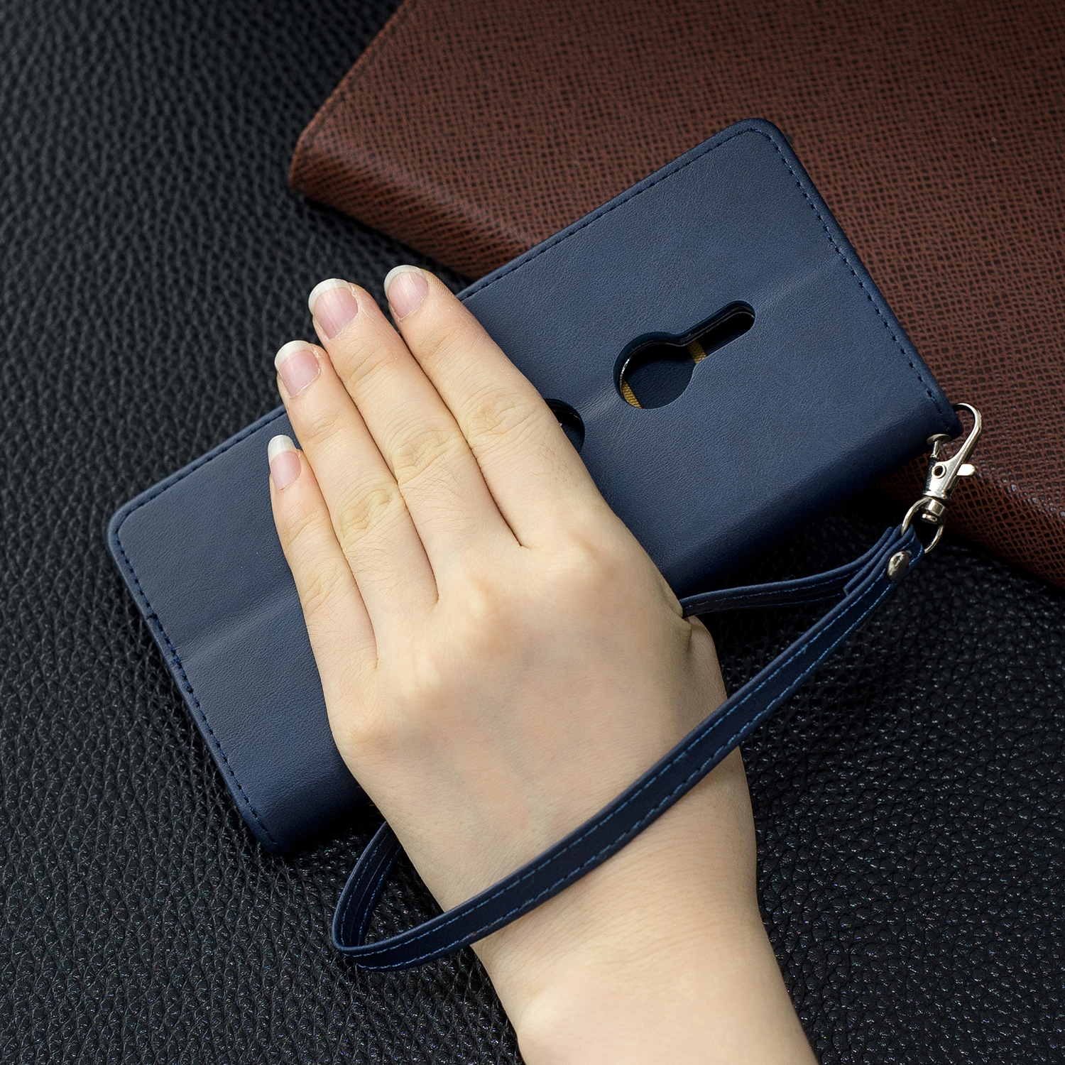 Magnetic-Flip-Card-Wallet-Leather-Phone-Case-For-Sony-Xperia-XA2-Ultra-XZ1-L3-10 thumbnail 18