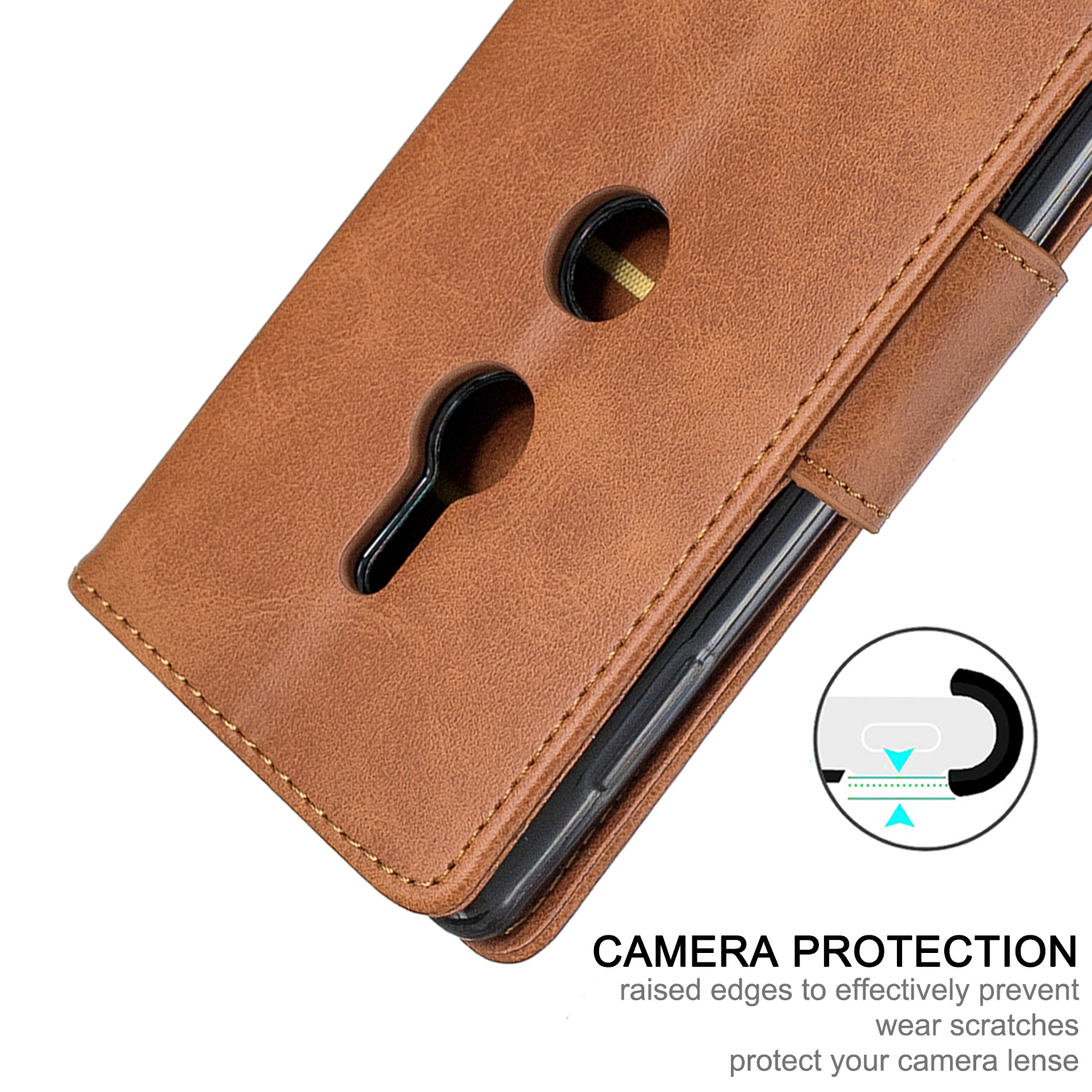 Magnetic-Flip-Card-Wallet-Leather-Phone-Case-For-Sony-Xperia-XA2-Ultra-XZ1-L3-10 thumbnail 30