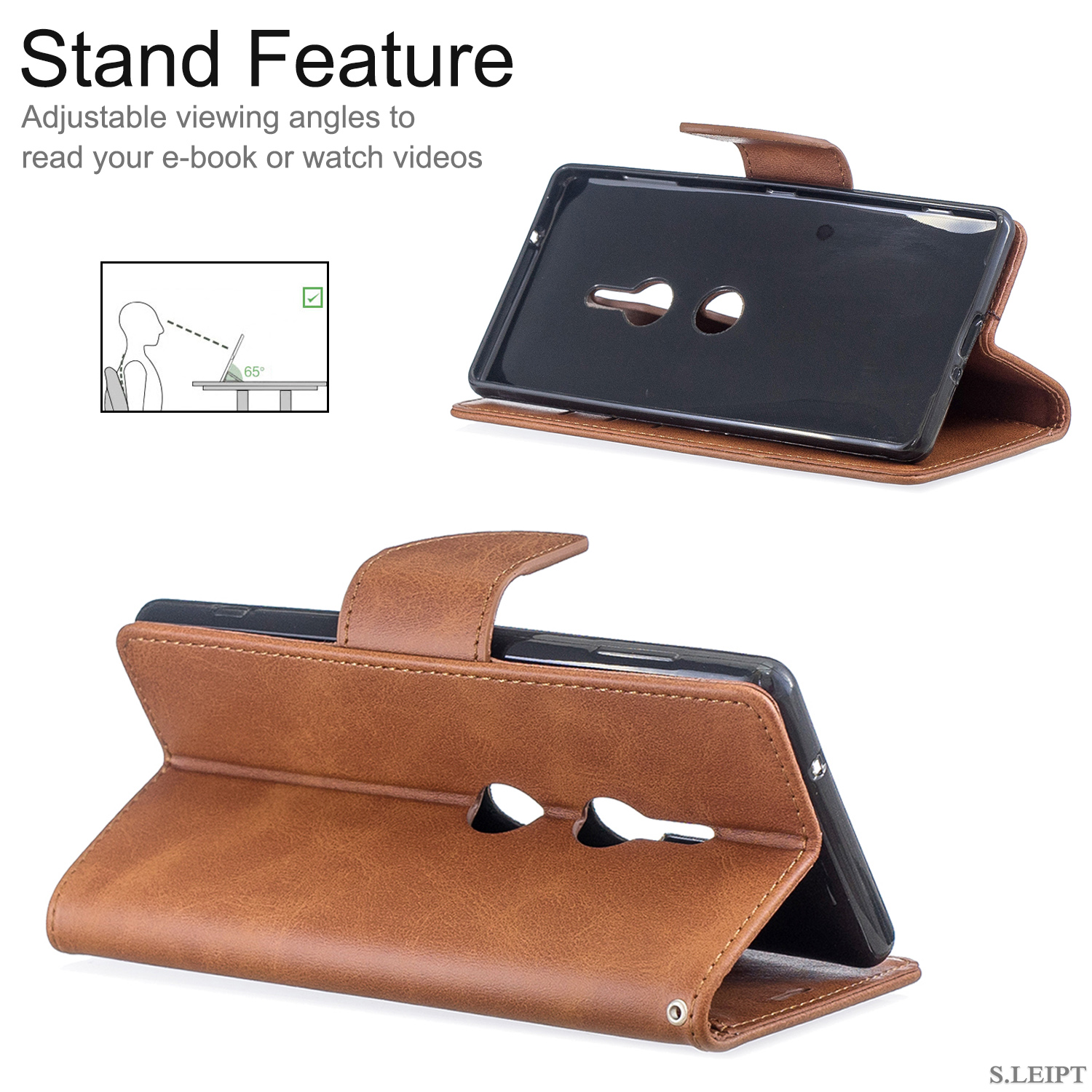 Magnetic-Flip-Card-Wallet-Leather-Phone-Case-For-Sony-Xperia-XA2-Ultra-XZ1-L3-10 thumbnail 31