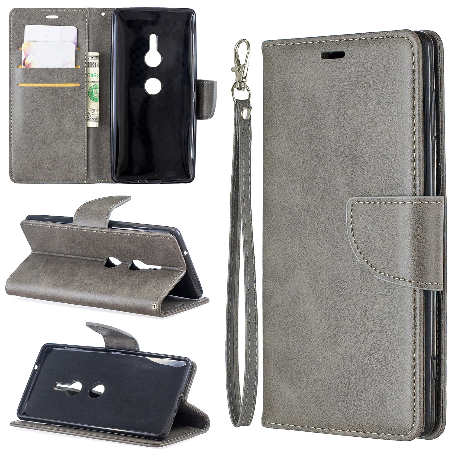 Magnetic-Flip-Card-Wallet-Leather-Phone-Case-For-Sony-Xperia-XA2-Ultra-XZ1-L3-10 thumbnail 55