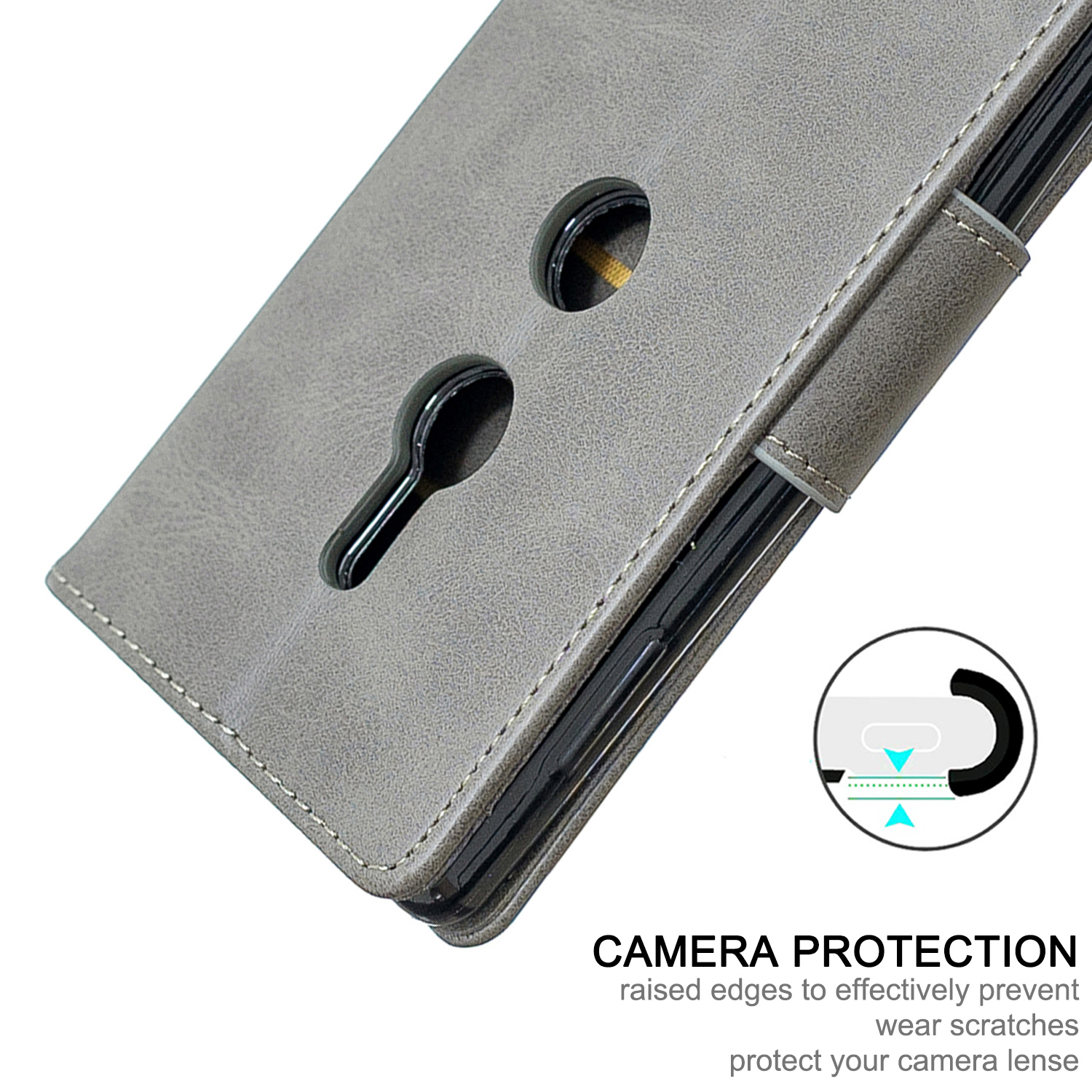 Magnetic-Flip-Card-Wallet-Leather-Phone-Case-For-Sony-Xperia-XA2-Ultra-XZ1-L3-10 thumbnail 57