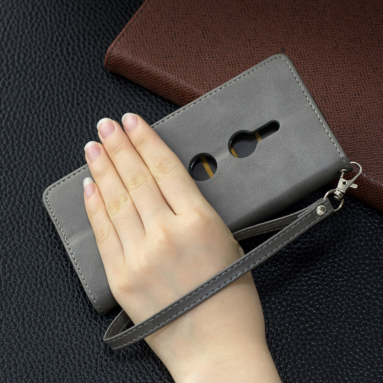 Magnetic-Flip-Card-Wallet-Leather-Phone-Case-For-Sony-Xperia-XA2-Ultra-XZ1-L3-10 thumbnail 54