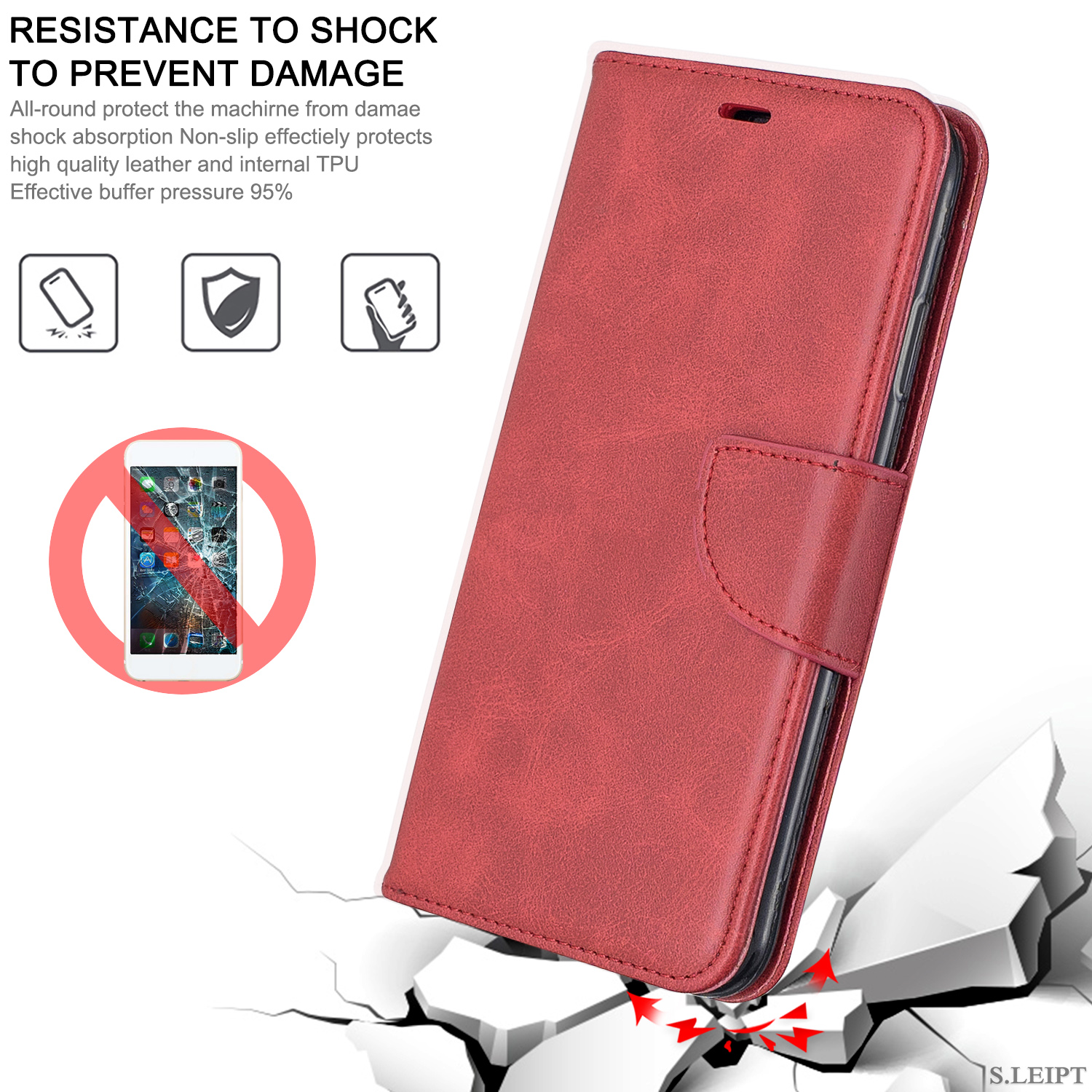 Magnetic-Flip-Card-Wallet-Leather-Phone-Case-For-Sony-Xperia-XA2-Ultra-XZ1-L3-10 thumbnail 47