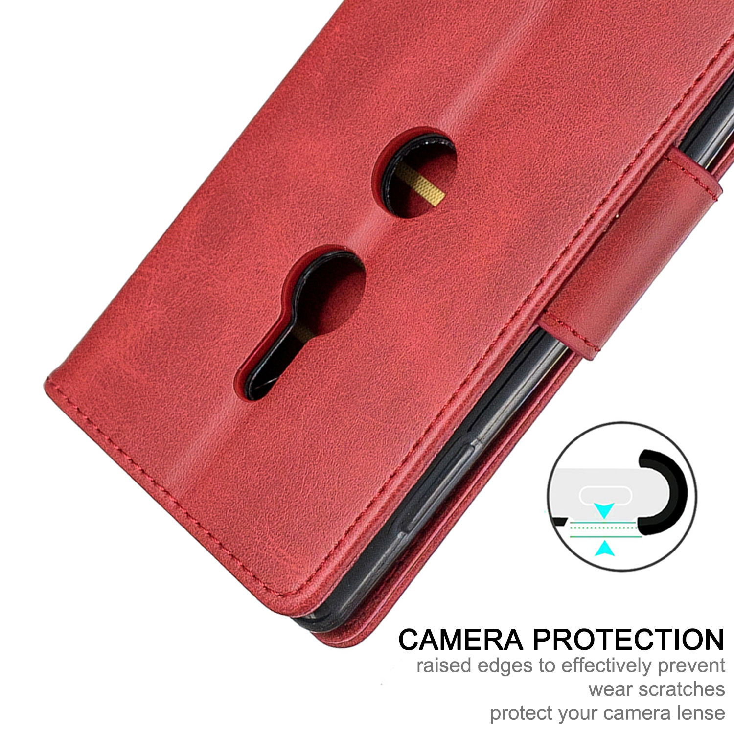 Magnetic-Flip-Card-Wallet-Leather-Phone-Case-For-Sony-Xperia-XA2-Ultra-XZ1-L3-10 thumbnail 48