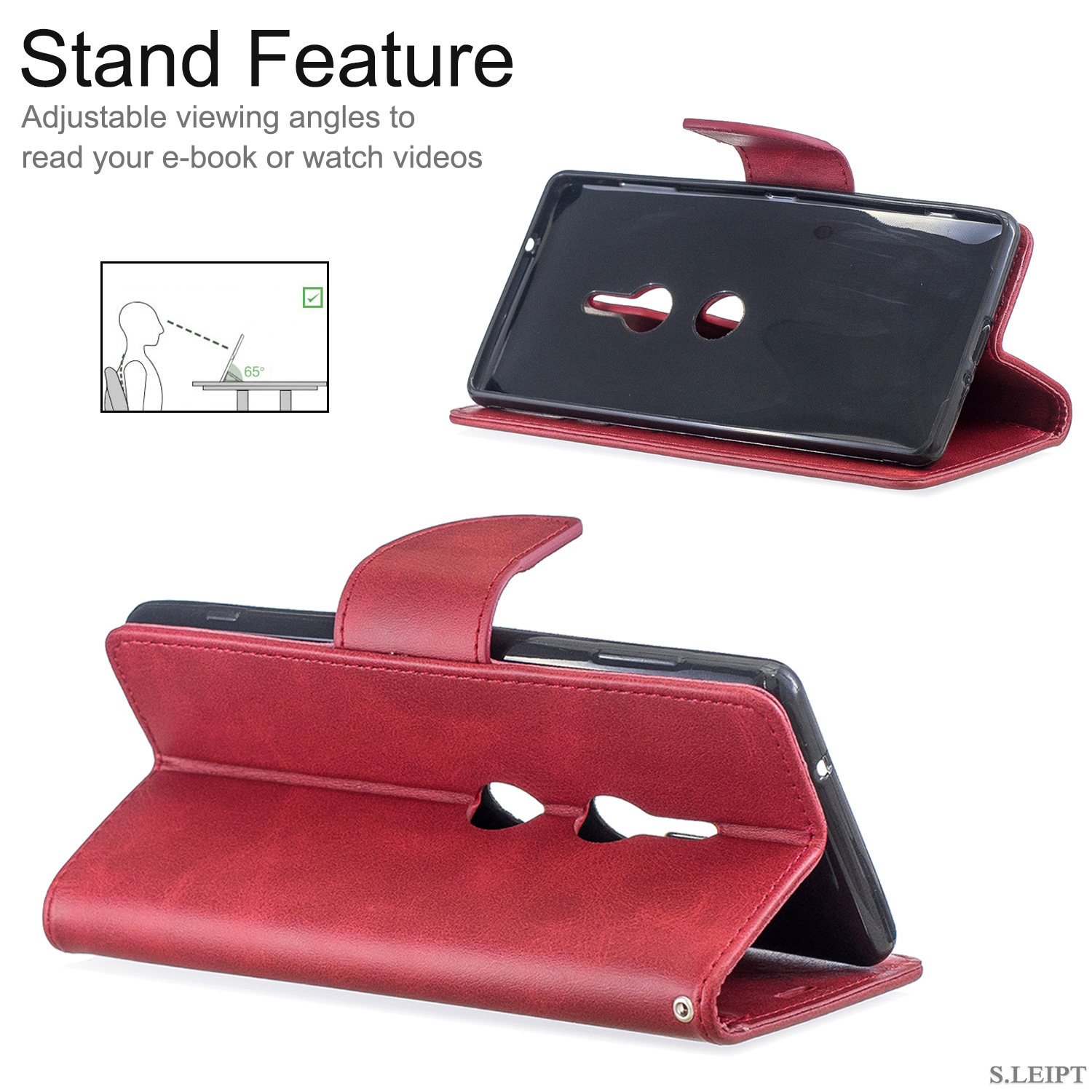 Magnetic-Flip-Card-Wallet-Leather-Phone-Case-For-Sony-Xperia-XA2-Ultra-XZ1-L3-10 thumbnail 49