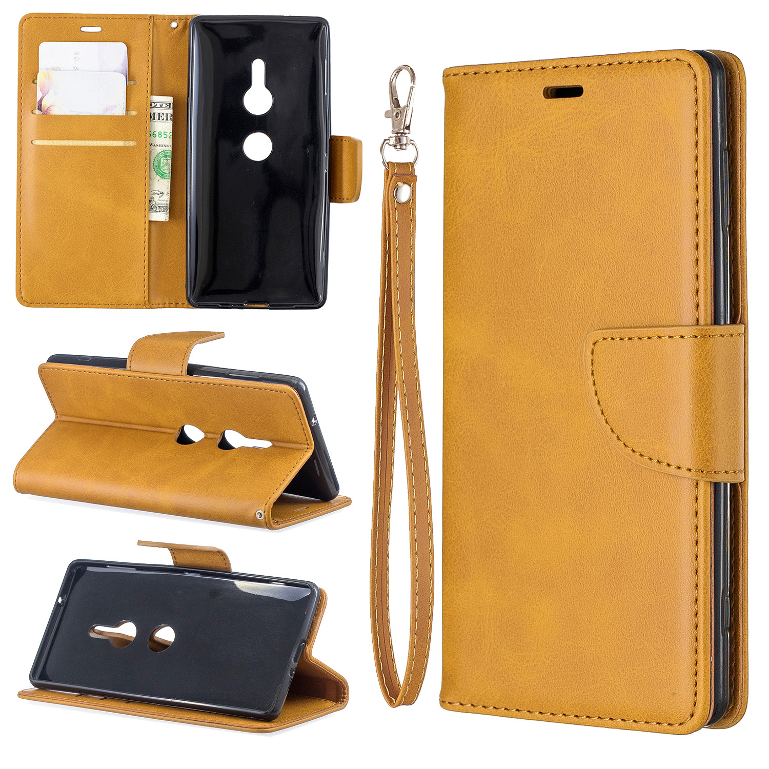 Magnetic-Flip-Card-Wallet-Leather-Phone-Case-For-Sony-Xperia-XA2-Ultra-XZ1-L3-10 thumbnail 37