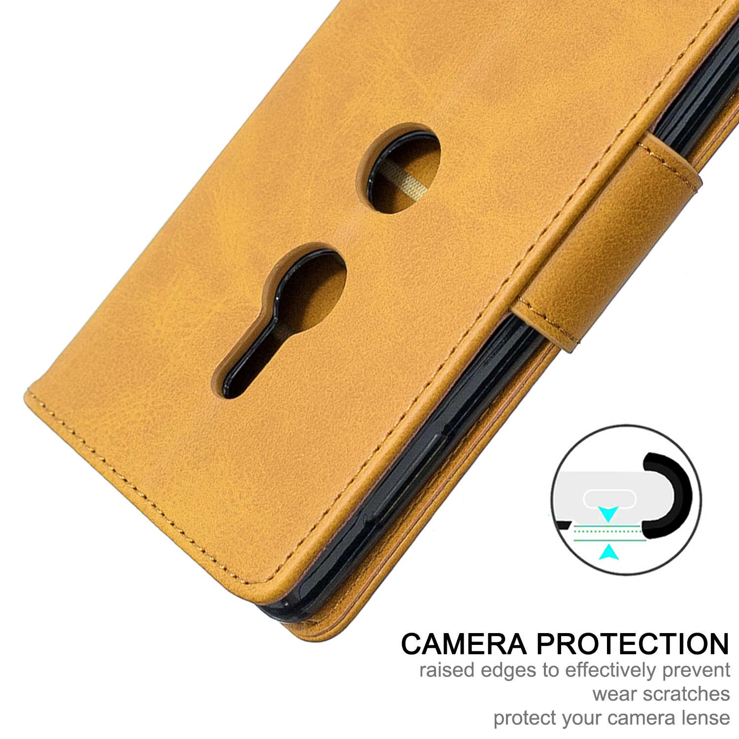 Magnetic-Flip-Card-Wallet-Leather-Phone-Case-For-Sony-Xperia-XA2-Ultra-XZ1-L3-10 thumbnail 39