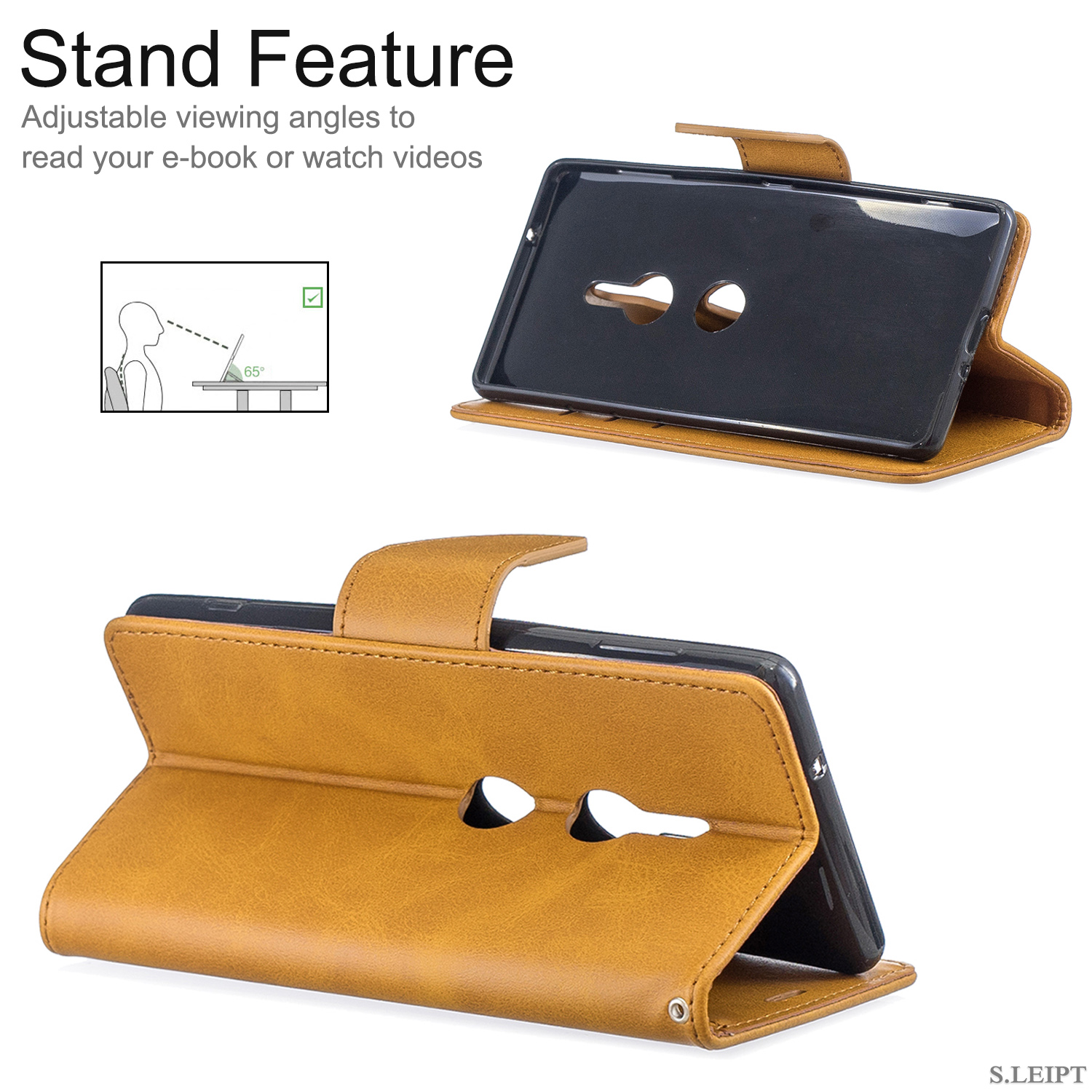 Magnetic-Flip-Card-Wallet-Leather-Phone-Case-For-Sony-Xperia-XA2-Ultra-XZ1-L3-10 thumbnail 40