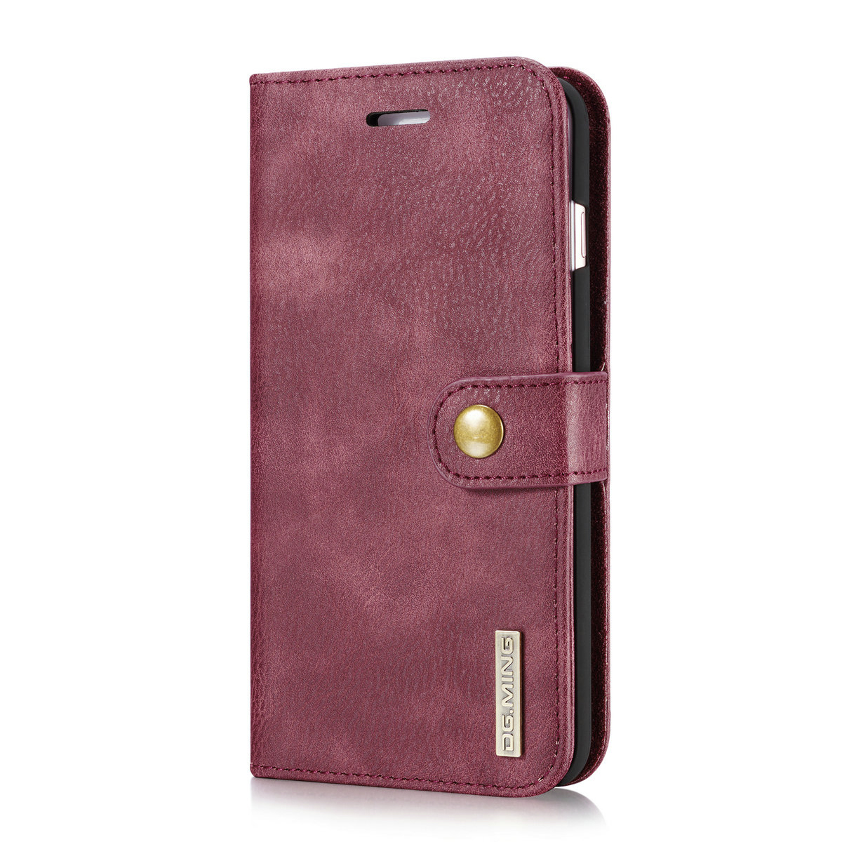 iphone 5s wallet cases luxury magnetic leather cover removable flip wallet 9551