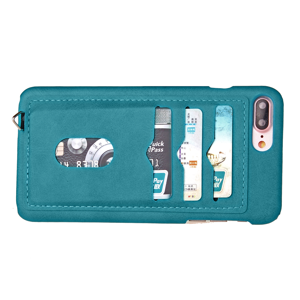 Iphone  Plus Case With Credit Card Holder