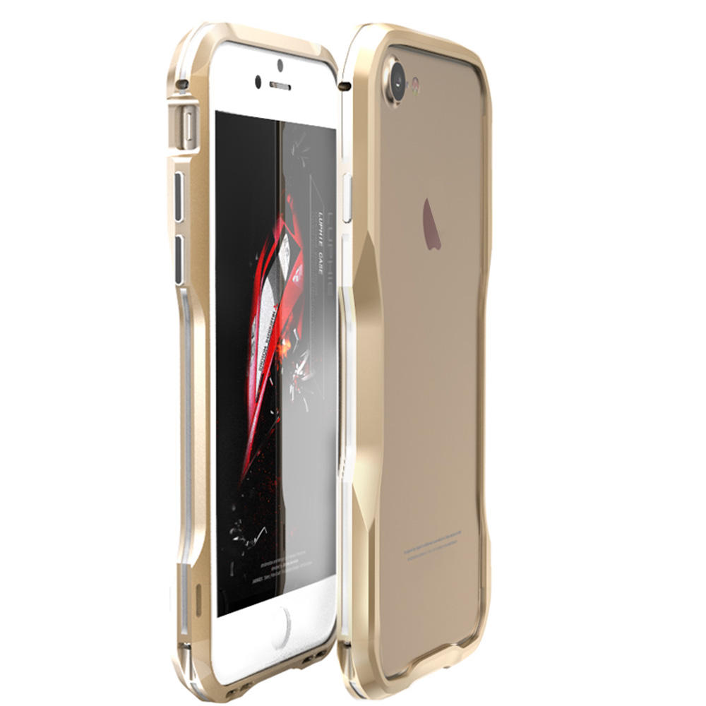 metal iphone case luphie armor metal aluminum bumper frame cover for 12624