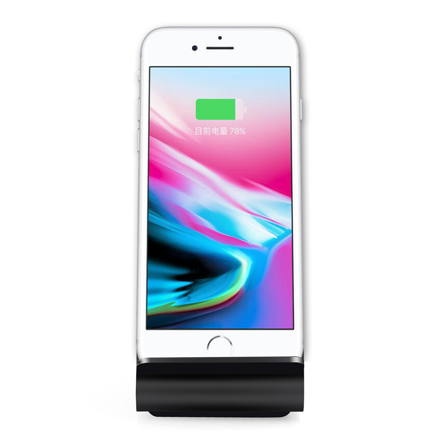 new fast wireless charger charging stand dock charge for. Black Bedroom Furniture Sets. Home Design Ideas